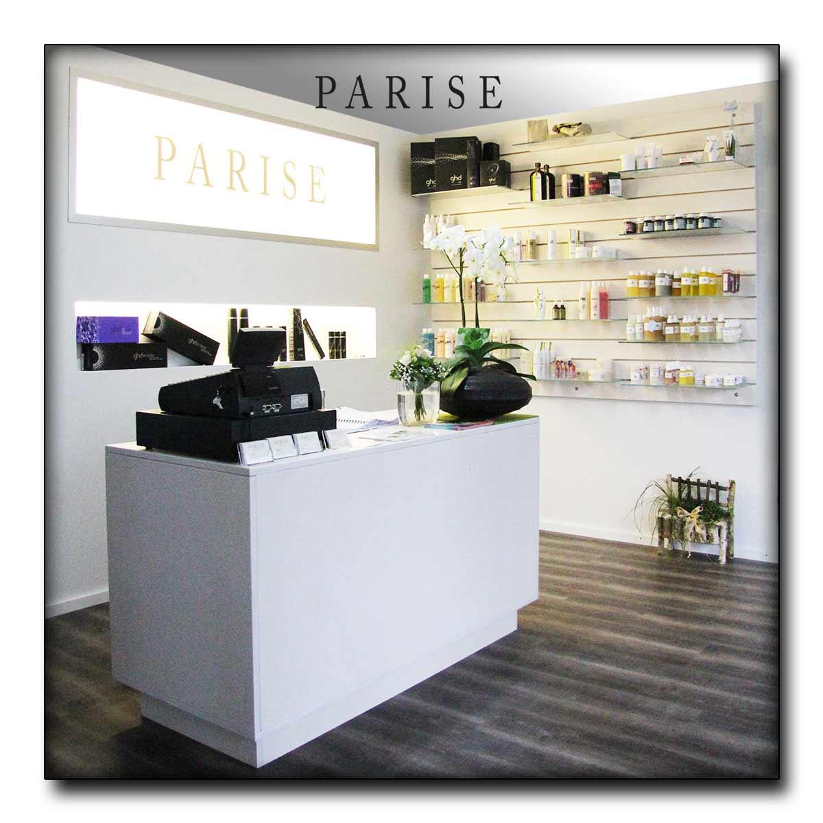 Friseur Salon Parise in Rottweil - Empfang